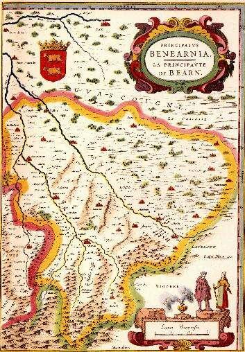 La principauté de Béarn - XVIème siècle